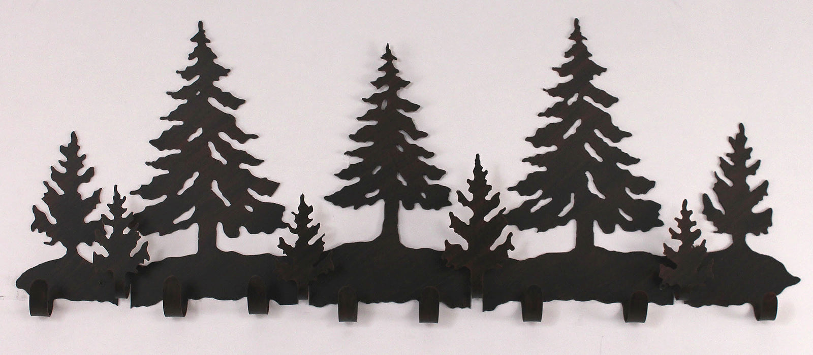 "36"" Iron Pine Tree Coat Rack - Coast Lamp Shop"