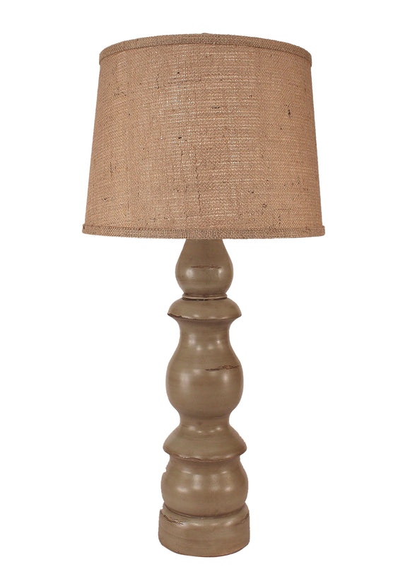 Oyster Shell Farmhouse Table Lamp - Coast Lamp Shop
