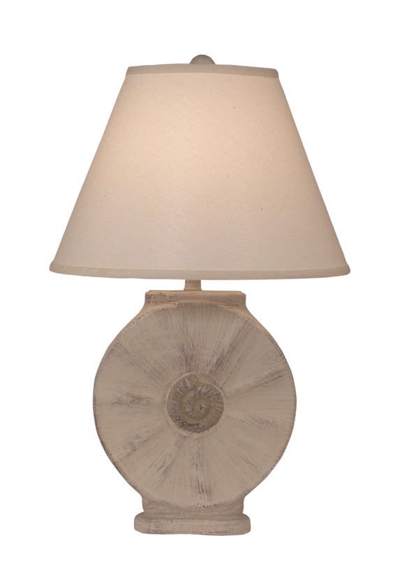 Cottage/Sisal Round Table Lamp w/ Rope Accent - Coast Lamp Shop