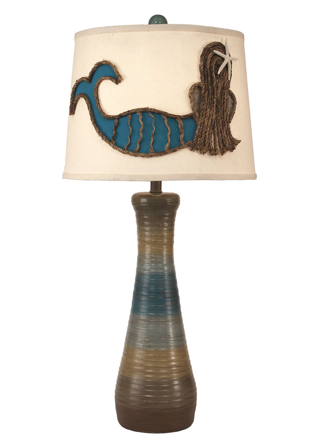 Surfside Mermaid Table Lamp - Coast Lamp Shop