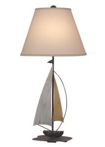 Sail Iron Sailboat Accent Lamp - Coast Lamp Shop