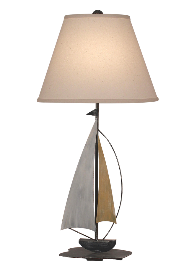 Sail Iron Sailboat Accent Lamp