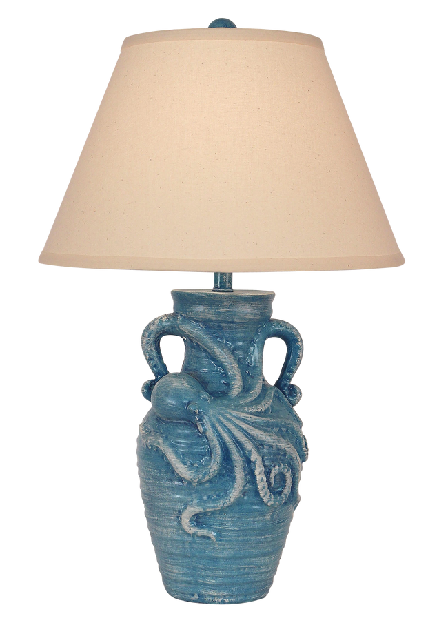 Weathered Deep Sea Octopus Table Lamp