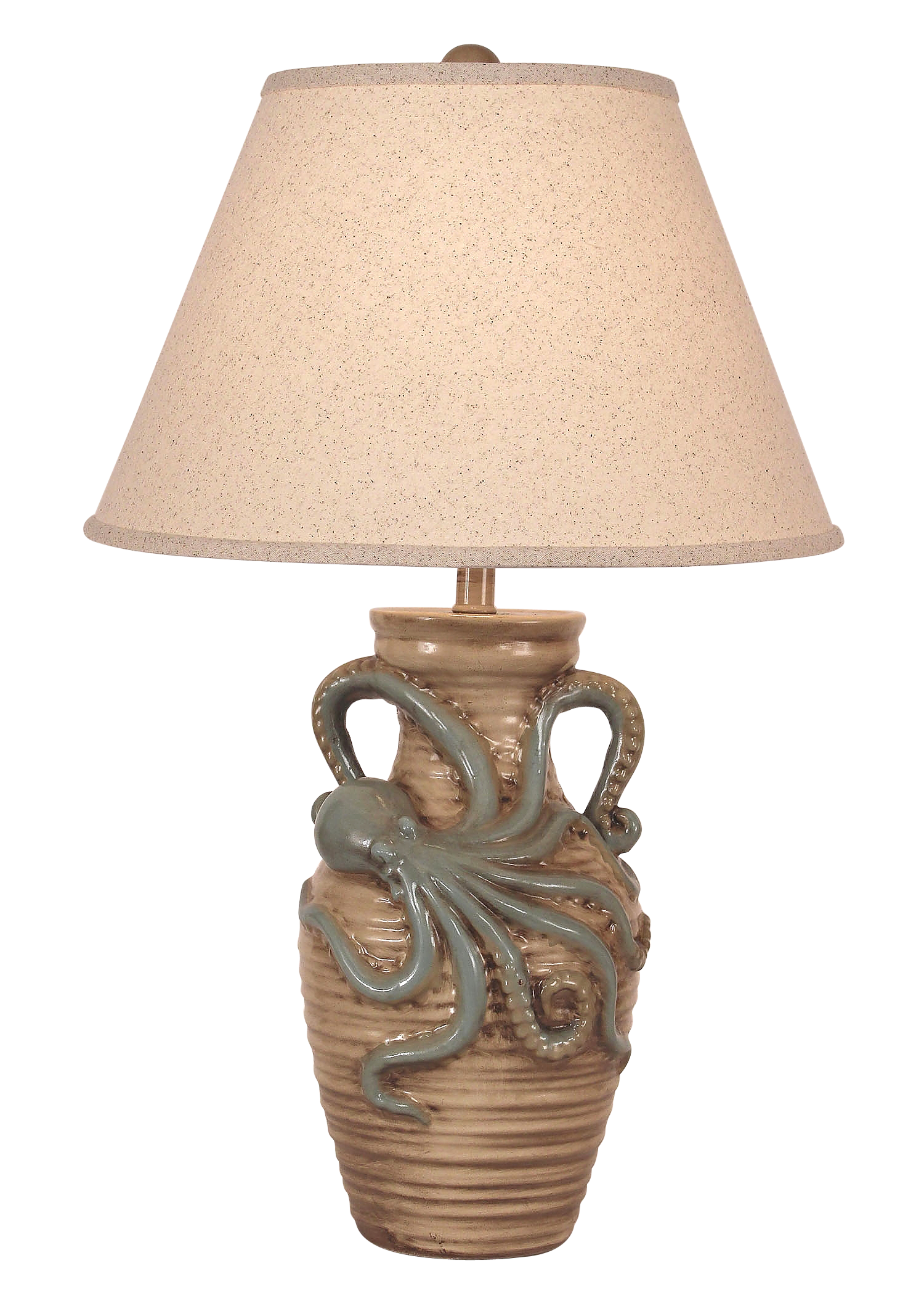 Cottage/Harbor Octopus Table Lamp - Coast Lamp Shop