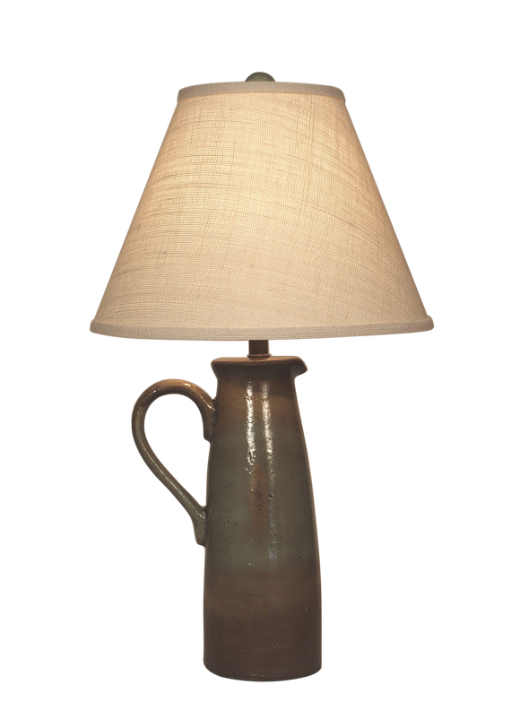 Harbor Large Handle Pitcher Table Lamp - Coast Lamp Shop
