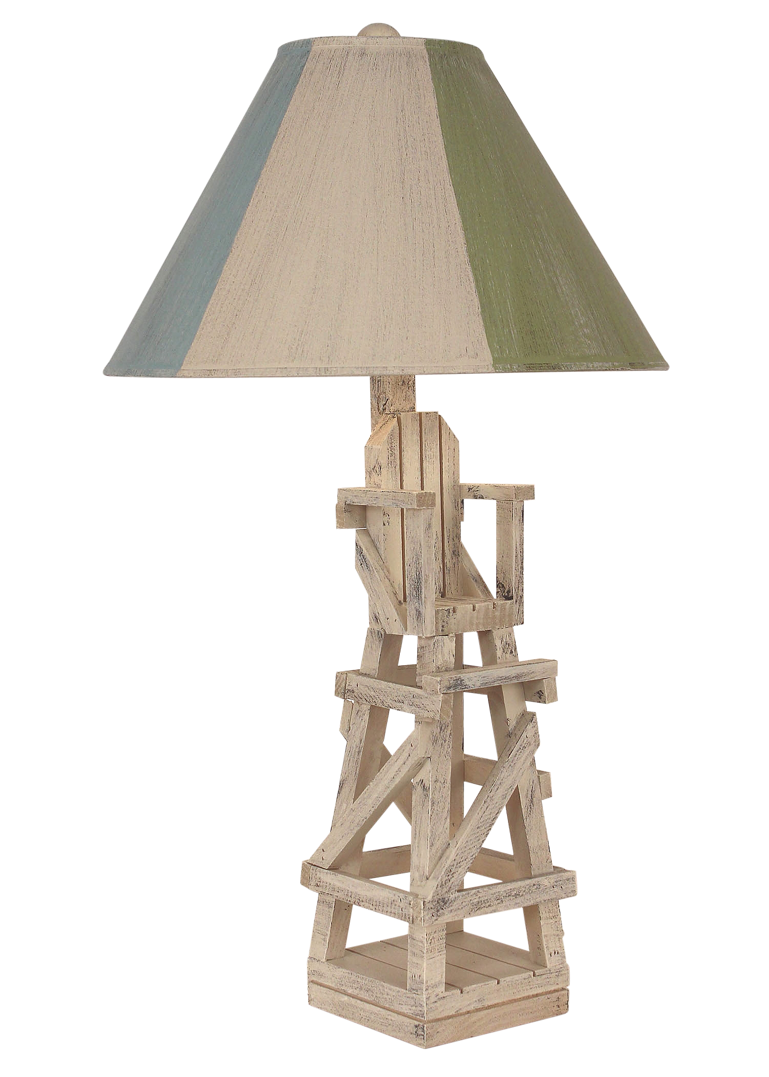 Cottage Life Guard Chair Table Lamp - Coast Lamp Shop
