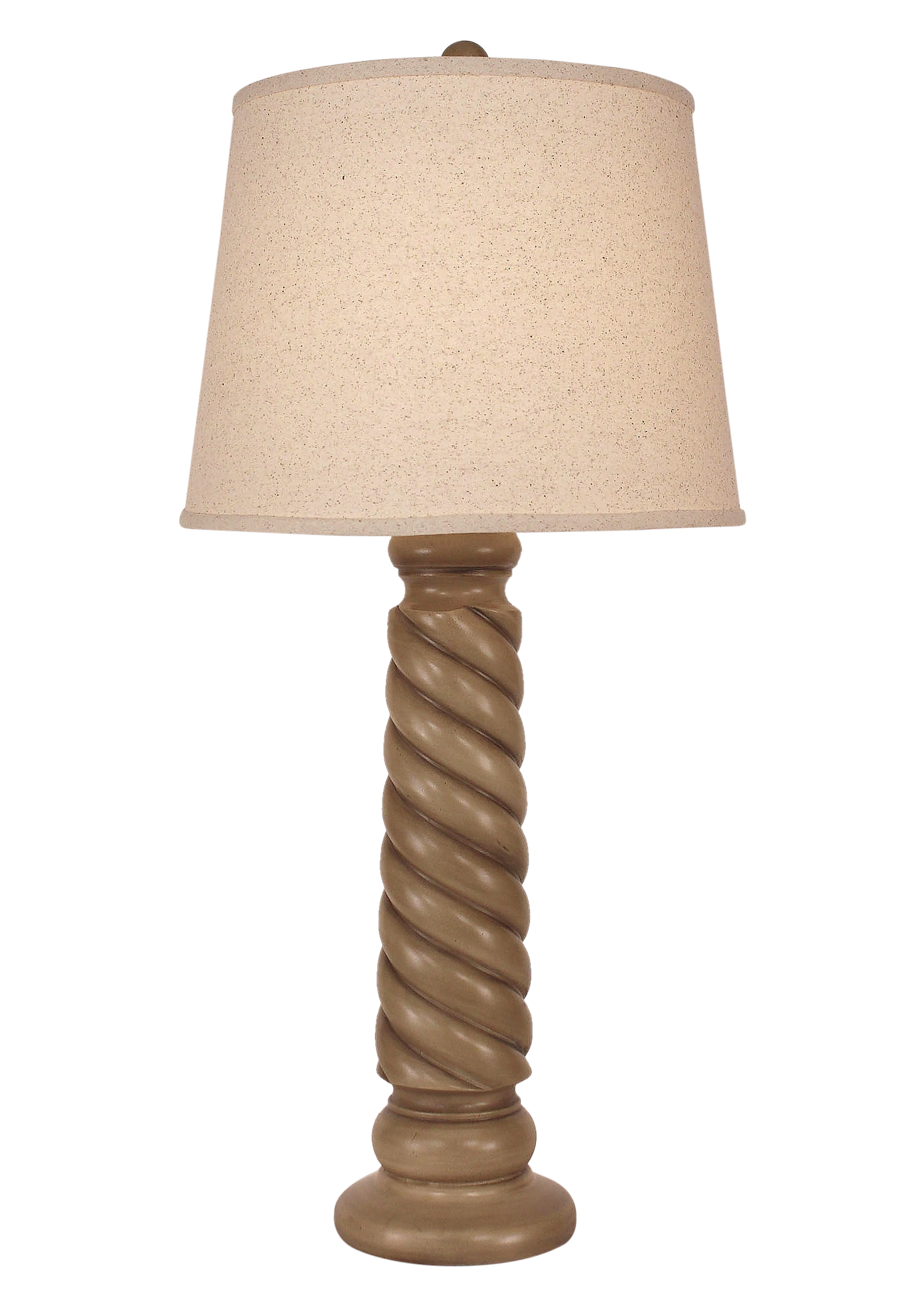 Cottage Glazed Carousel Table Lamp - Coast Lamp Shop