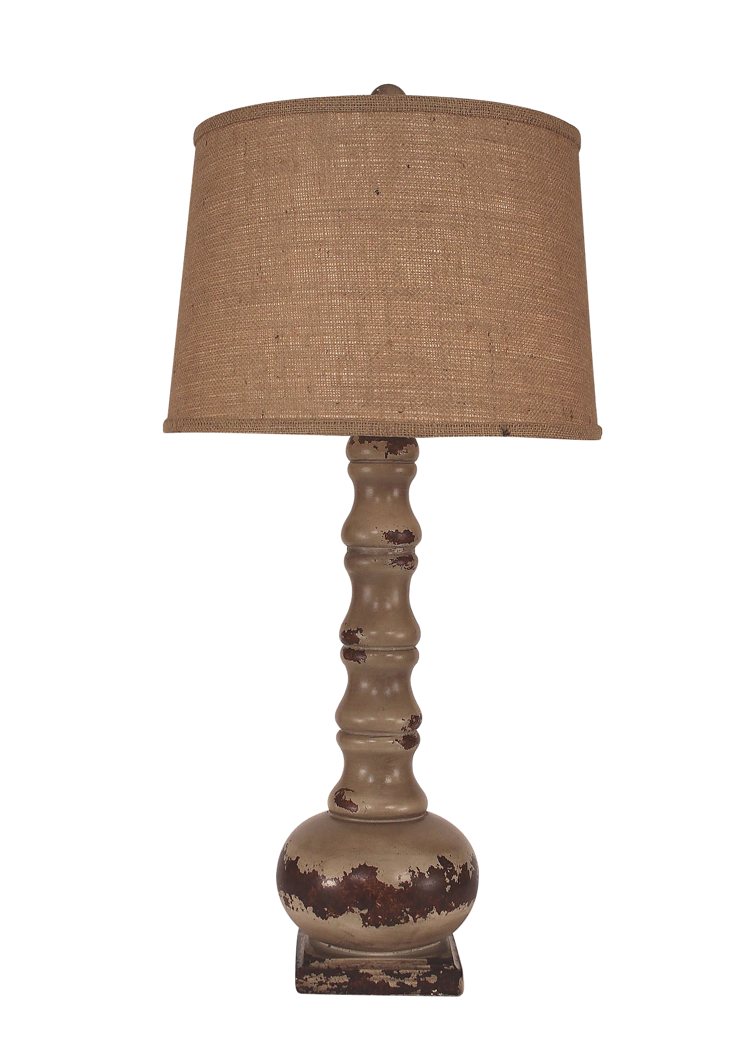"Aged Cottage Large ""OS"" Table Lamp - Coast Lamp Shop"