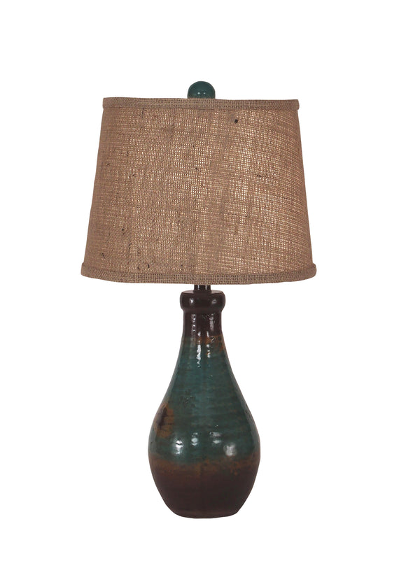 Harvest Clay Jug Table Lamp - Coast Lamp Shop