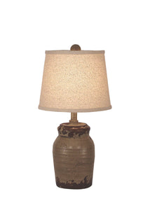 Aged Cottage Honey Jar Table Lamp - Coast Lamp Shop