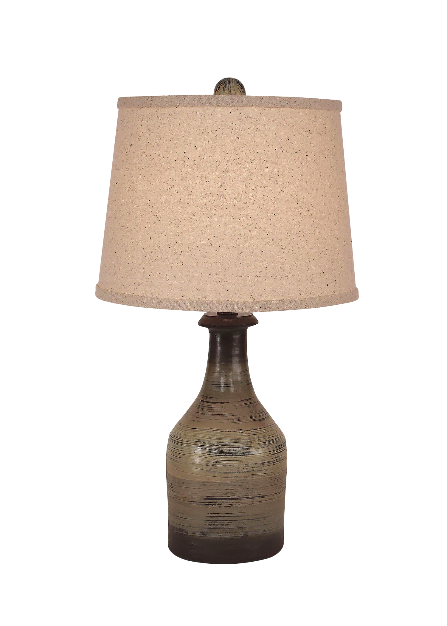 Earthstone Small Clay Jug Accent Lamp - Coast Lamp Shop