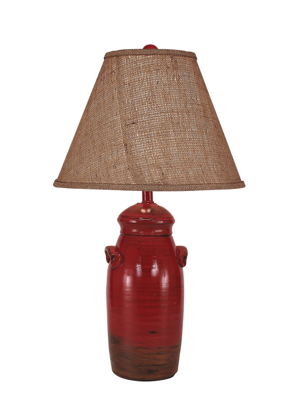 Firebrick Small Slender Crock - Coast Lamp Shop