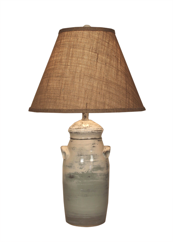 Alabaster Small Slender Crock - Coast Lamp Shop