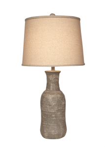 Cement Faux Clay Water Jug Lamp - Coast Lamp Shop