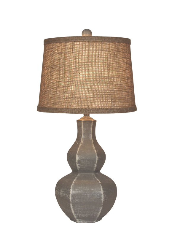 Weathered Grey 6-Sided Tear Drop - Coast Lamp Shop