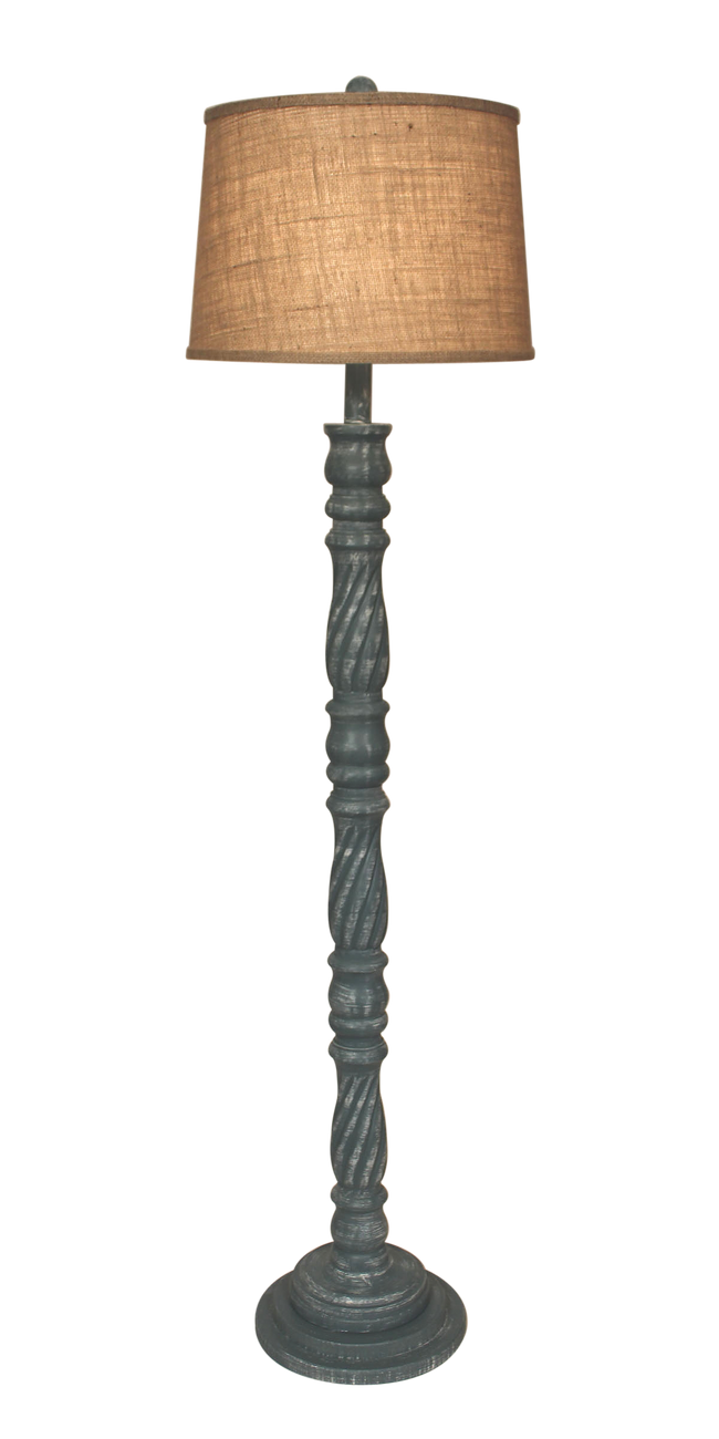 Riverway Swirl Floor Lamp