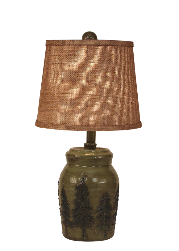 Forest Mini Pine Tree Accent Lamp - Coast Lamp Shop