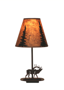 Mini Iron Elk Lamp - Coast Lamp Shop