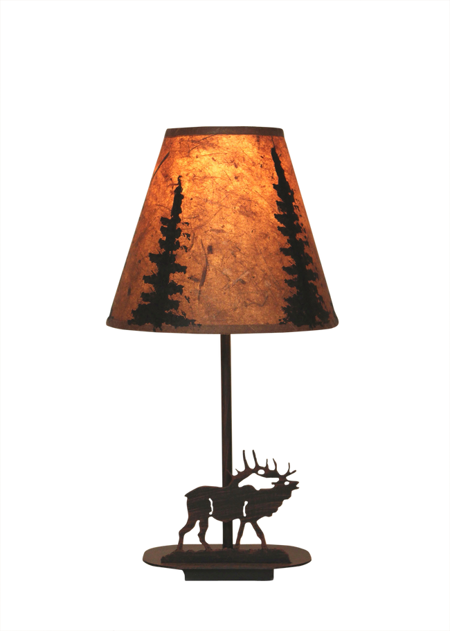 Mini Iron Elk Lamp