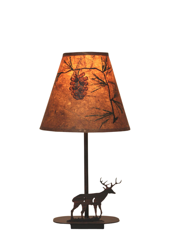 Mini Iron Deer Lamp - Coast Lamp Shop