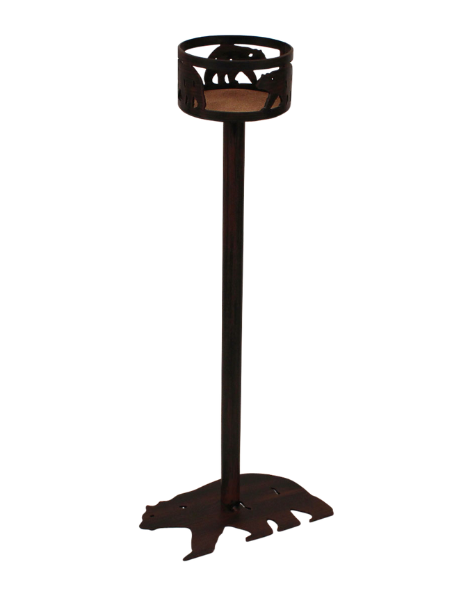 Copy of Iron Bear Band Drink Holder with Bear Base - Coast Lamp Shop