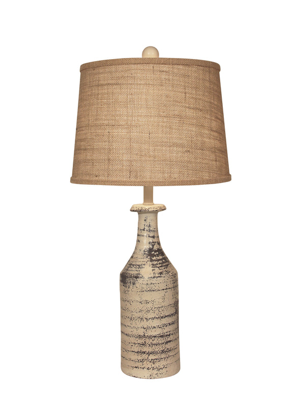 Rugged Cottage Tall Textured Table Lamp