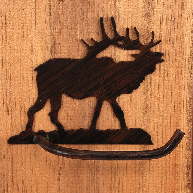 Iron Elk Arm Toilet Paper Holder - Coast Lamp Shop