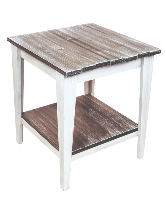 Cottage/Grey Stain Tapered Leg 21