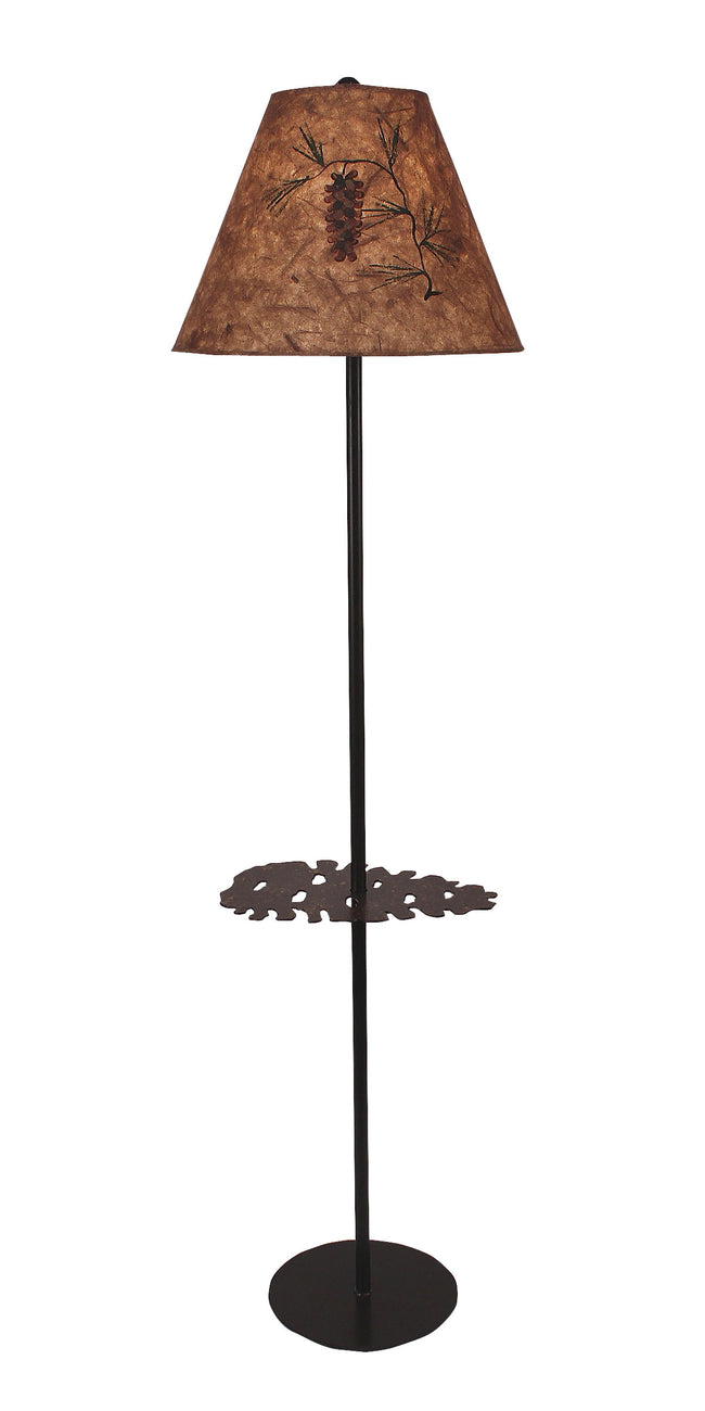 Pine Cone Tray Lamp - Coast Lamp Shop