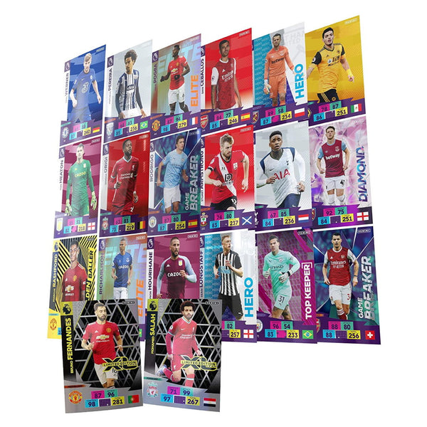 Panini Adrenalyn 2020/21 Premier League Cards (Pack of 6)