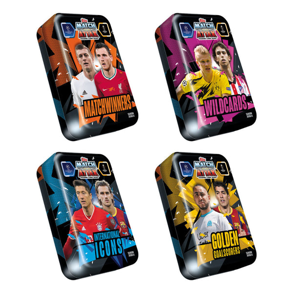 Match Attax 2020/21 Champions League Mega Tin