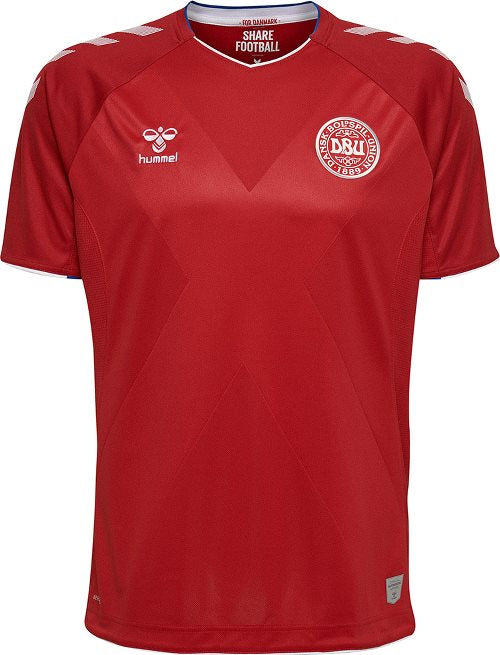 Youth Denmark Home Jersey 2018/19