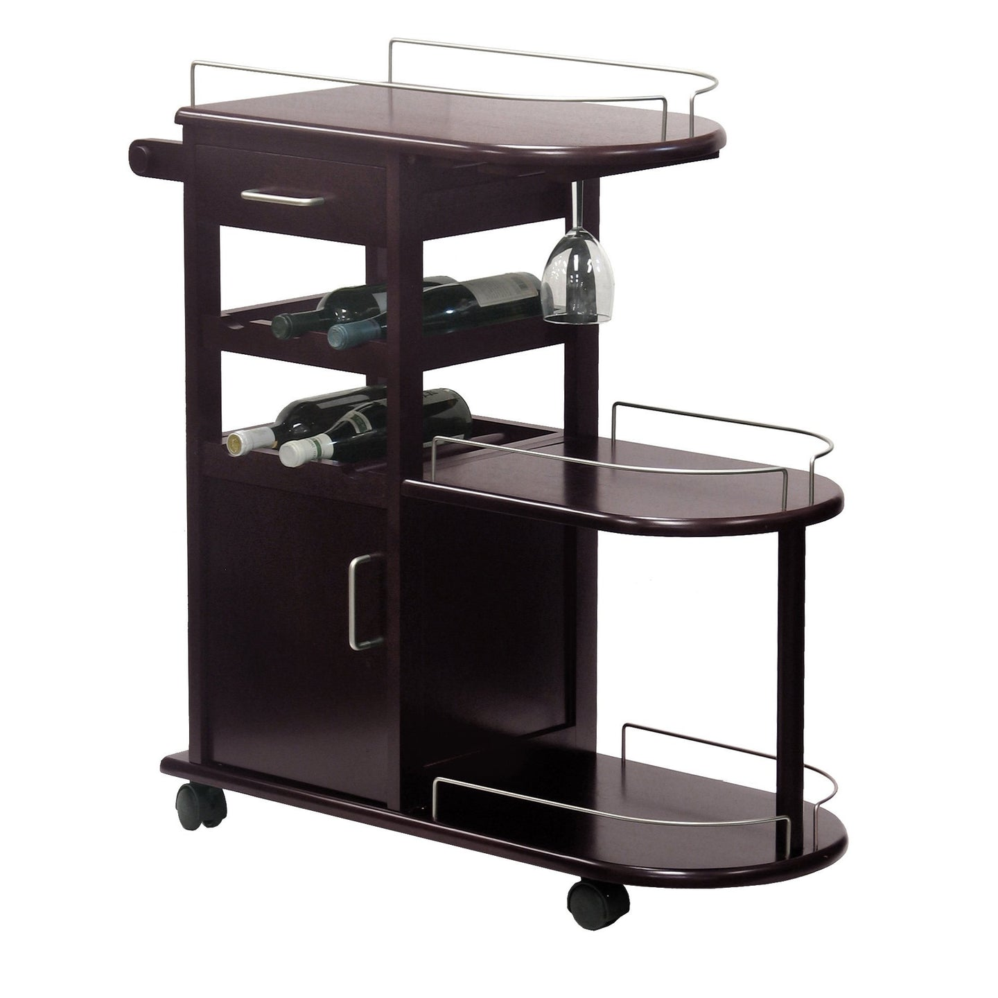 JIMMY 6-Bottle Entertainment Cart - barsforhomes.com