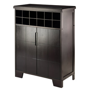 BONNAY 12 Bottle Bar Cabinet - barsforhomes.com