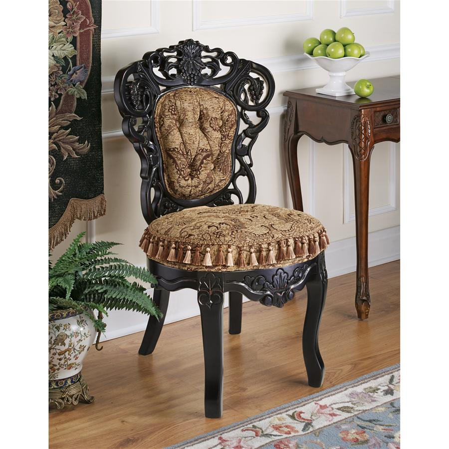 VICTORIAN PARLOR CHAIR(Available 12/28/18)