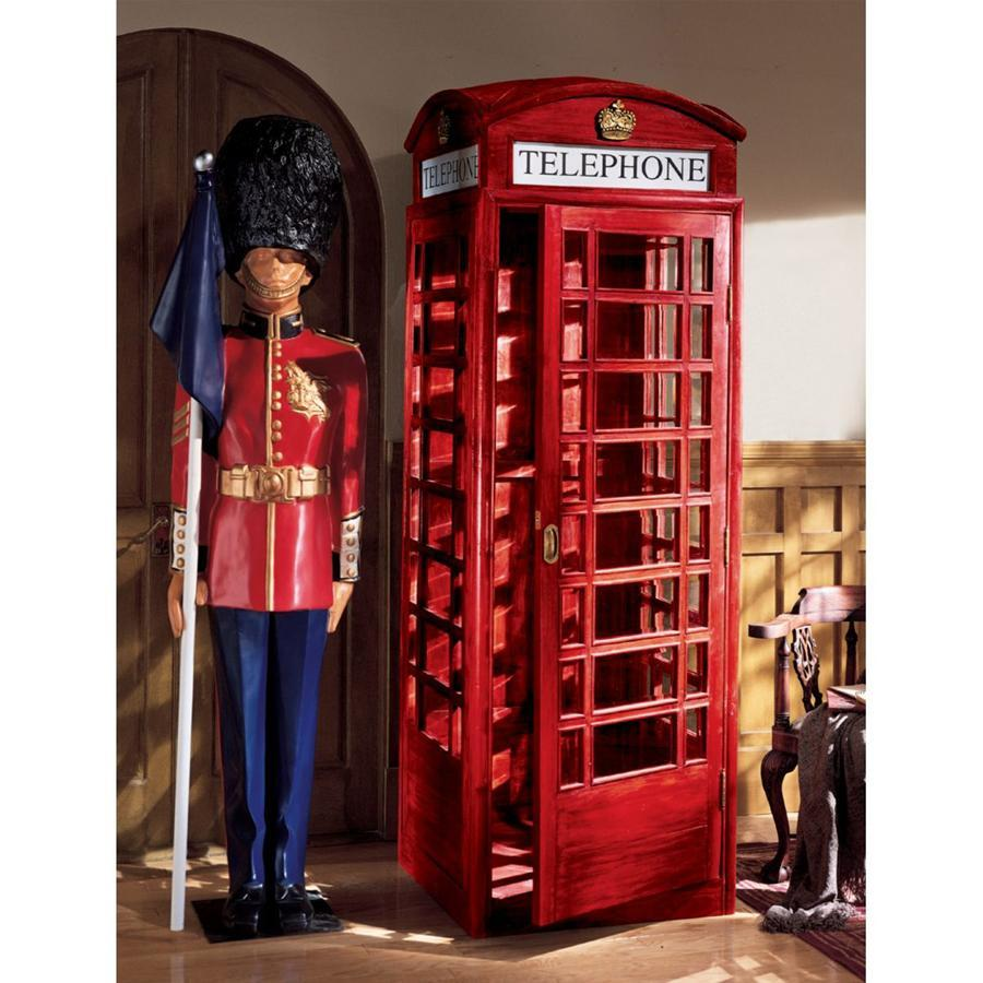 British Telephone Booth Re-Creation - barsforhomes.com