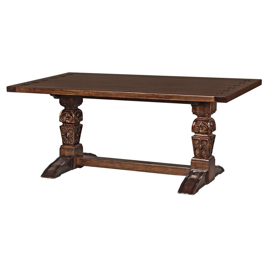 English Gothic Refectory High Table