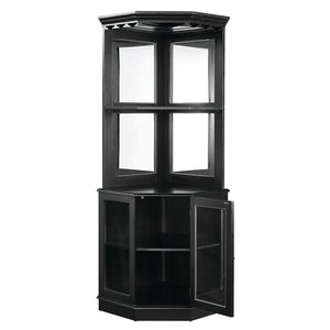 R Corner Bar Cabinet With Mirror - barsforhomes.com