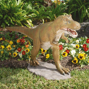 Jurassic Sized T-Rex Scaled Dinosaur Statue