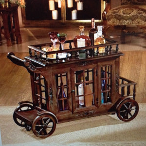 Cranbrook Manor Cordial Carriage Bar Cart(available 6/22/18) - barsforhomes.com