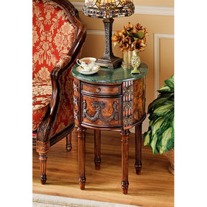 BEAUFORT DRUM OCCASIONAL TABLE