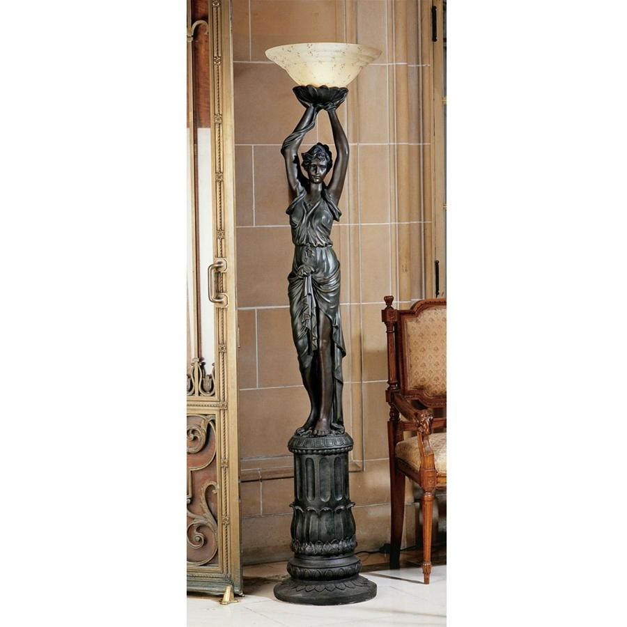 Place De Letoile  Torchiere Floor Lamp