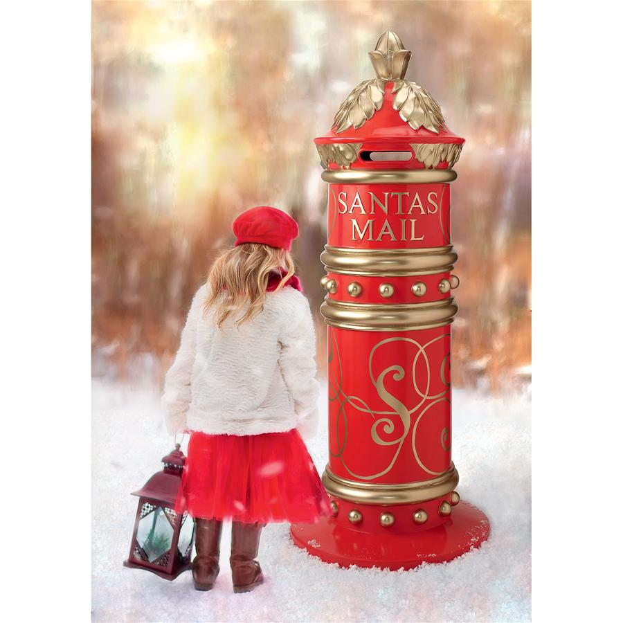 Santas North Pole Holiday Mailbox(Available 11/30/18)