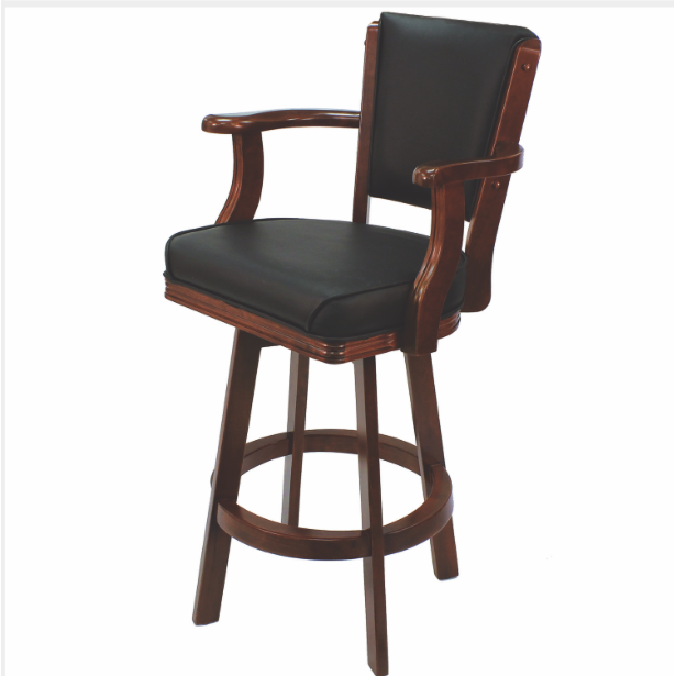 R Square Swivel Barstool With Arms - barsforhomes.com