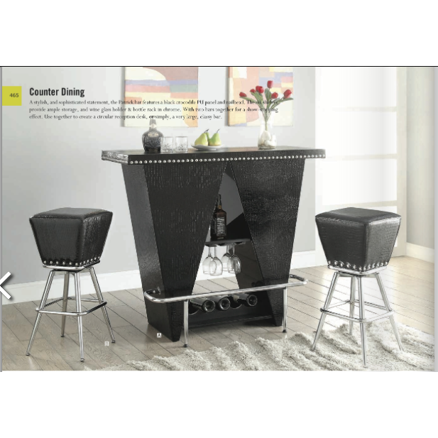 Patrick ACME 3-Piece Bar Set - barsforhomes.com