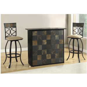 ACME Pansy Bar Table 3-Piece Set - barsforhomes.com