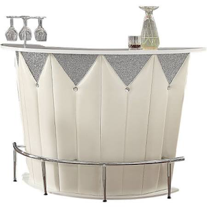 Sphaerio ACME Bar Table with High Gloss Top - barsforhomes.com
