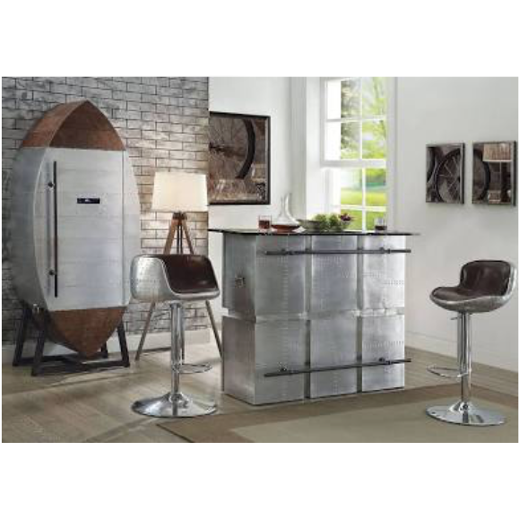 Acme Brancaster 4 Piece Home Bar Set Home Bar In Style