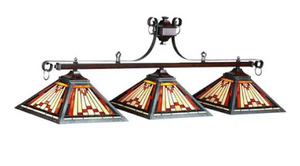 "LAREDO-54"" 3LT BILLIARD LIGHT"
