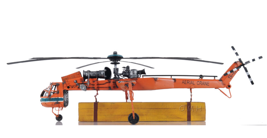 Aerial Crane Lifting Helicopter